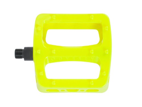 ODSY TWISTED PRO PEDALS Fluorescent Yellow