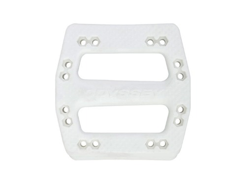 ODSY OG-PC PEDALS BODY HALVES -White-