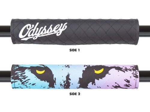 ODYSSEY REVERSIBLE BAR PAD -Quilted Slugger & Nightwolf-