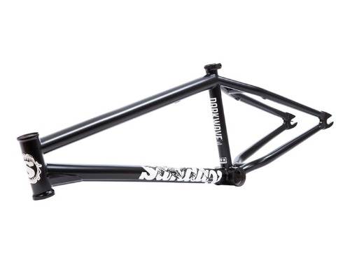 "SUNDAY DARKWAVE FRAME (Broc Raiford signature) MATTE Black [20.75""TT / 21""TT]"