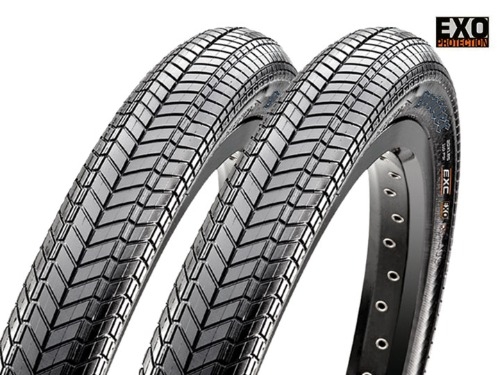 "MAXXIS GRIFTER Tire 'EXO' 120tpi Black 2개 패키지 [2.1"" / 2.3""]"